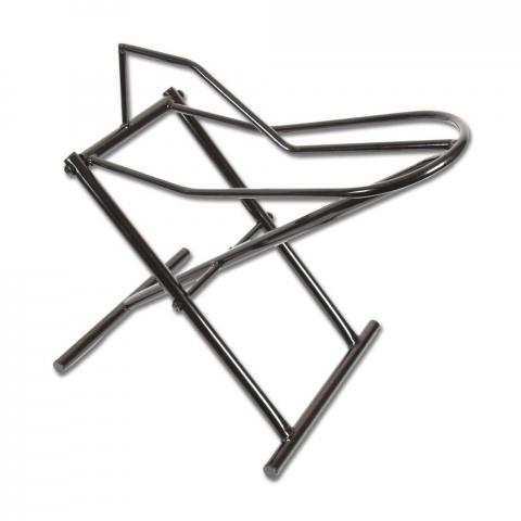 Koziołek na siodło metalowy czarny składany