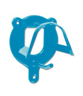 Wieszak na ogłowie Waldhausen metalowy niebieski
