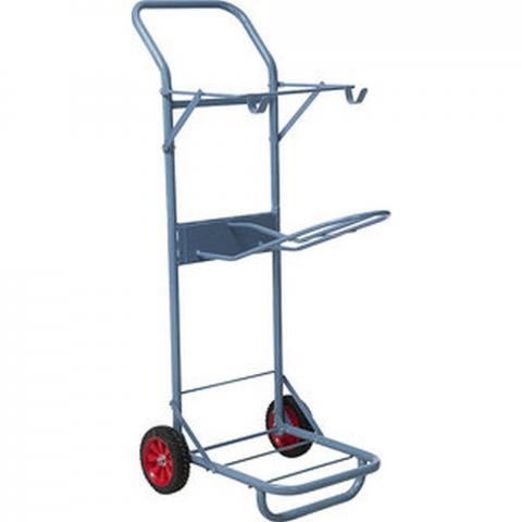 Wózek stajenny Ekkia metalowy czarny