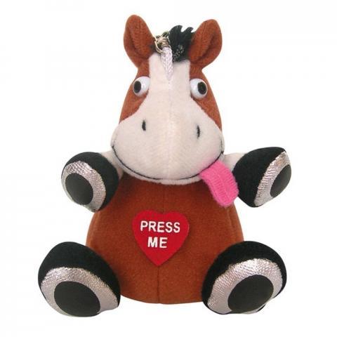 Brelok HKM maskotka koń brązowy