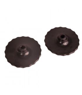 Ślinianki żelowe Acavallo czarne