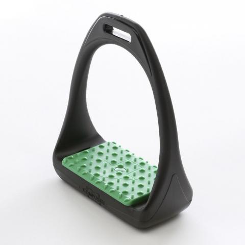 Strzemiona Kavalkade Compositi Reflex szerokie zielone