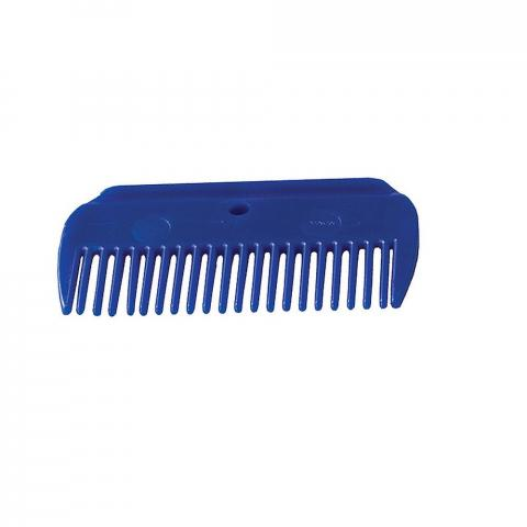 Grzebień plastikowy Horze niebieski