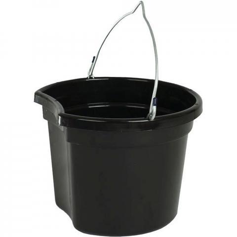 Wiadro Horze z wklęsłym bokiem czarne
