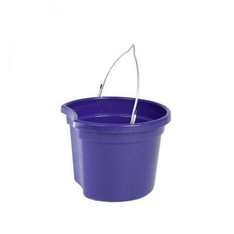 Wiadro Horze z wklęsłym bokiem fioletowe