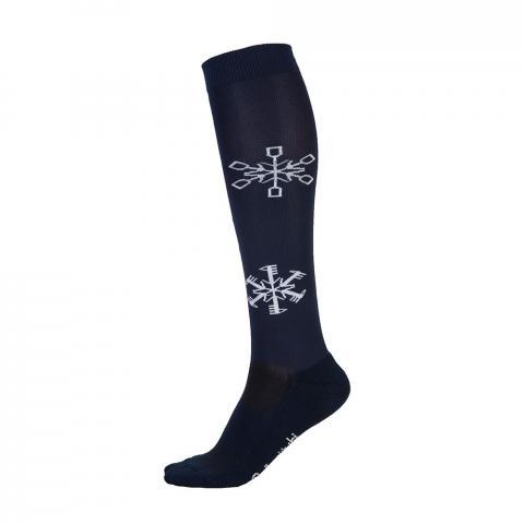 Skarpety Comodo podkoniówki świąteczne śnieżynki