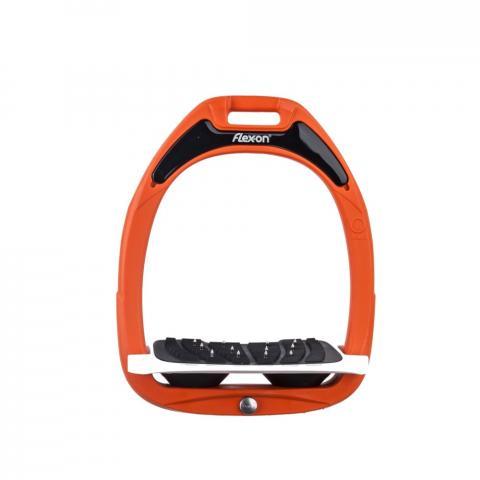Strzemiona Flex-On Green Composite z kolcami dorośli pomarańczowo-biało-czarne