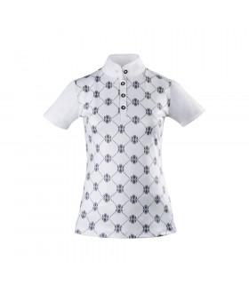 Bluzka konkursowa Start Gabrielle biała