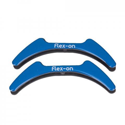 Wkładki magnetyczne do strzemion młodzieżowych Flex-on niebieskie