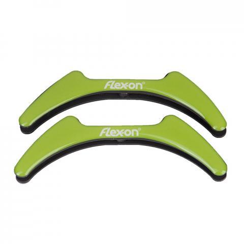 Wkładki magnetyczne do strzemion młodzieżowych Flex-on zielone