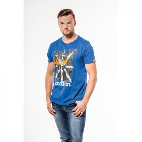 Koszulka męska Eskadron Fanatics Ken-T royal, niebieska 2018
