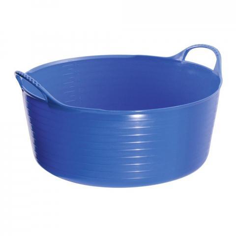 Miska miękka Busse Tubtrug plastikowa niebieska