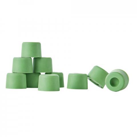 Zaślepki gumowe do podków Busse, zielone 5 sztuk