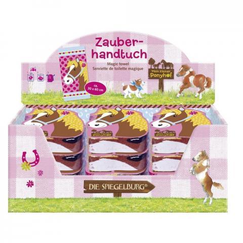 """Magiczny ręcznik Spiegelburg """"Mein kleiner Ponyhof"""""""