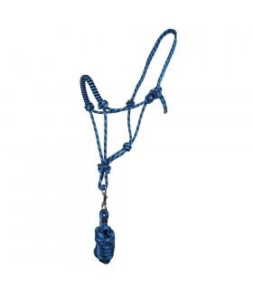 Kantar sznurkowy z uwiązem QHP niebieski