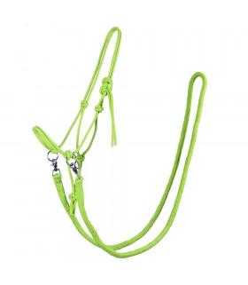 Kantar sznurkowy z wodzami QHP zielony