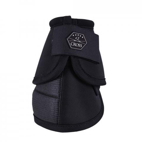 Kaloszki QHP kevlarowe Black, czarne