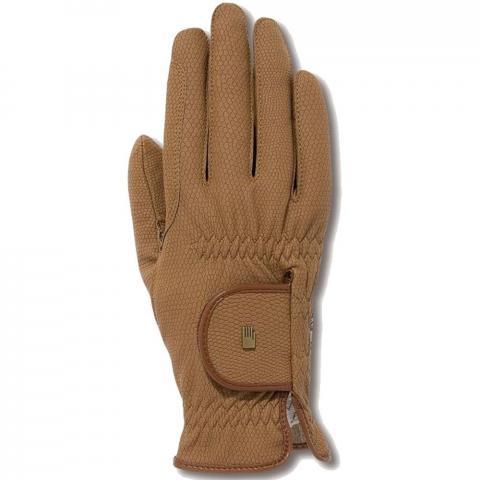 Rękawiczki Roeckl karmelowe