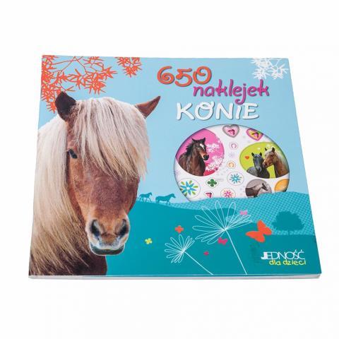 Konie - 650 naklejek