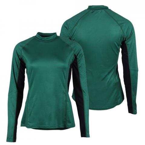 Bluzka techniczna dla zawodników WKKW QHP Eldorado Army, zielona