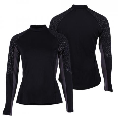 Bluzka techniczna dla zawodników WKKW QHP Eldorado Elegant, czarna