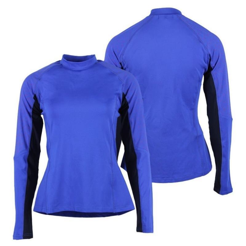 Bluzka techniczna dla zawodników WKKW QHP Tangerine, chabrowy
