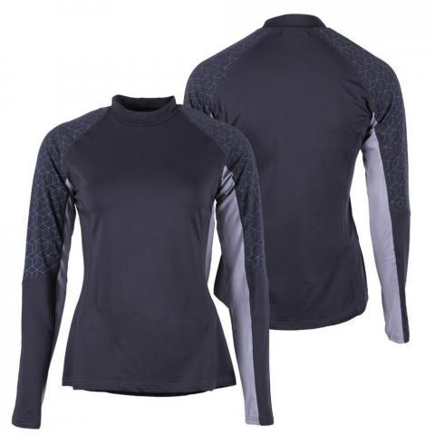 Bluzka techniczna dla zawodników WKKW QHP Titanium, szara