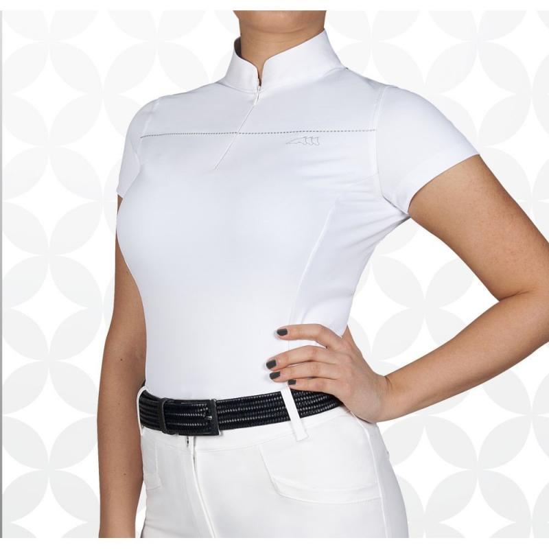 Bluzka konkursowa damska Equiline Catherine biała