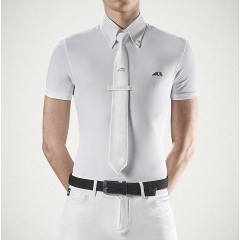 Bluzka konkursowa męska Equiline Fox biała