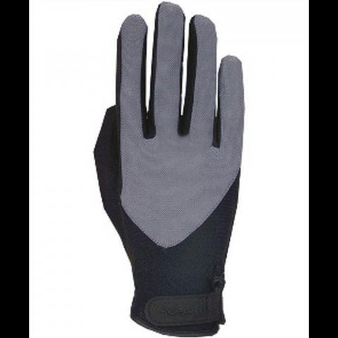 Rękawiczki Roeckl czarno-szare