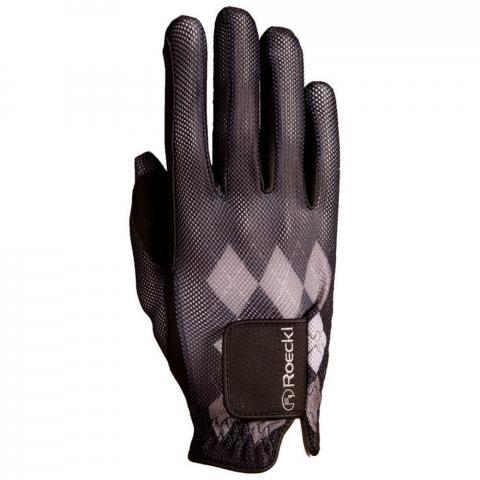 Rękawiczki Roeckl caro czarne