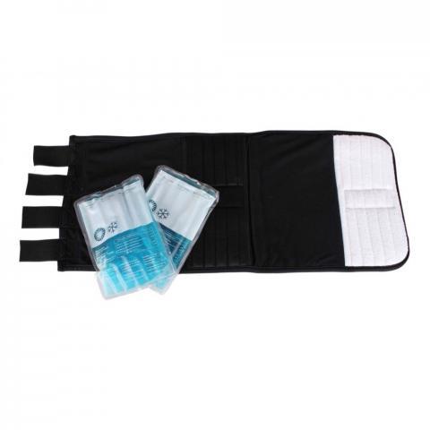 Ochraniacze chłodząco-rozgrzewające QHP czarne